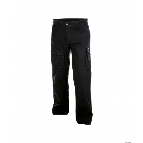 Pantalon de travail Kingston face noir