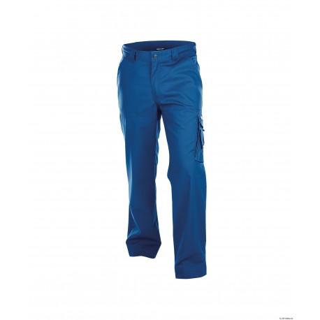 Pantalon de travail Liverpool face bleu roi
