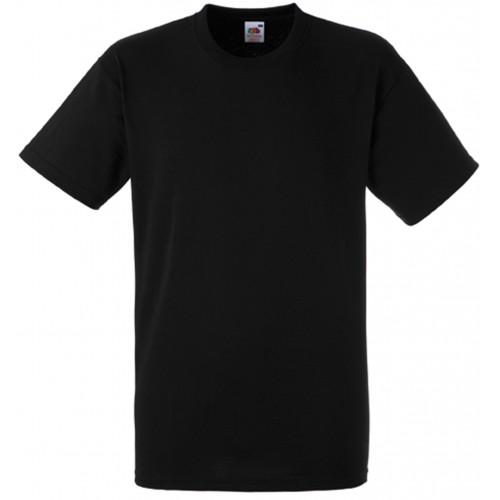 T-shirt coton lourd Sc61212 Noir