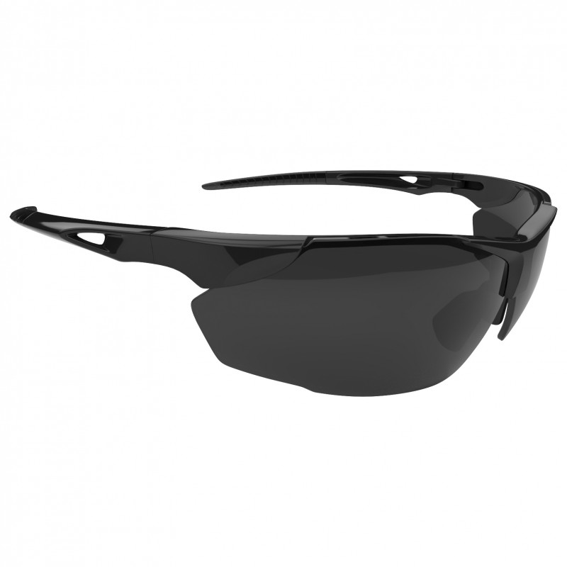 lunette de protection ps04 noir look sport anti bu es rayures. Black Bedroom Furniture Sets. Home Design Ideas
