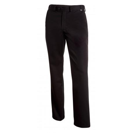 Pantalon cuisinier pantalon cuisine molinel pbo3 noir lastiqu e - Pantalon de cuisine molinel ...