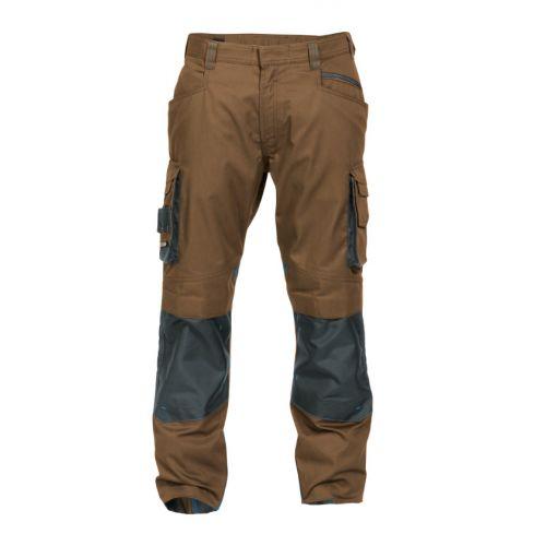 Pantalon de travail Nova devant Argile/gris