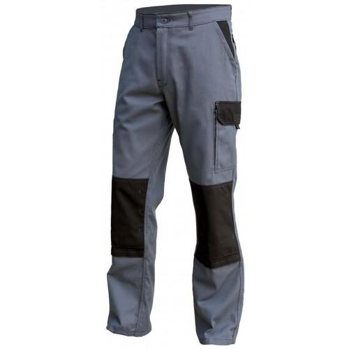 Pantalon de travai Typhon avec renfort gris