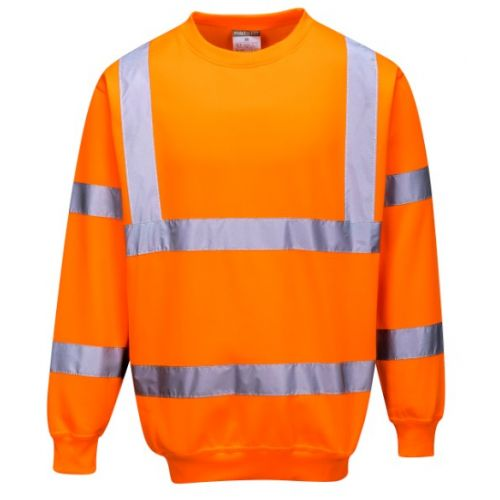 SWEAT-SHIRT HAUTE VISIBILITE ORANGE
