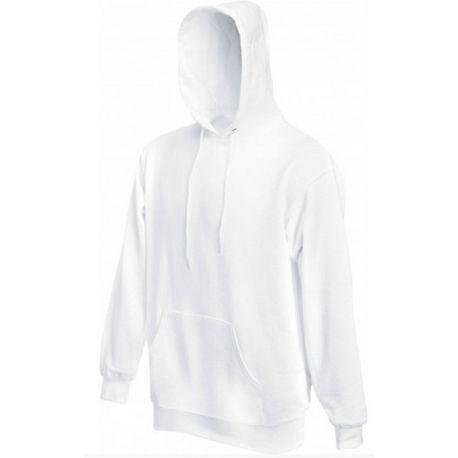 Sweat à capuche Sc244c blanc