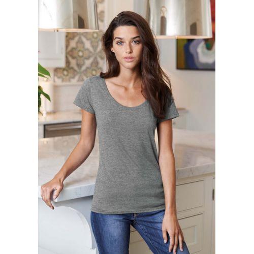 T-shirt femme col bateau Gi64550L coton