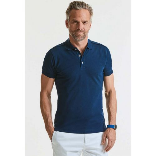 Polo homme Russell Ru566m coupe slim