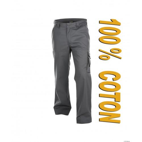 Pantalon de travail Liverpool coton face gris