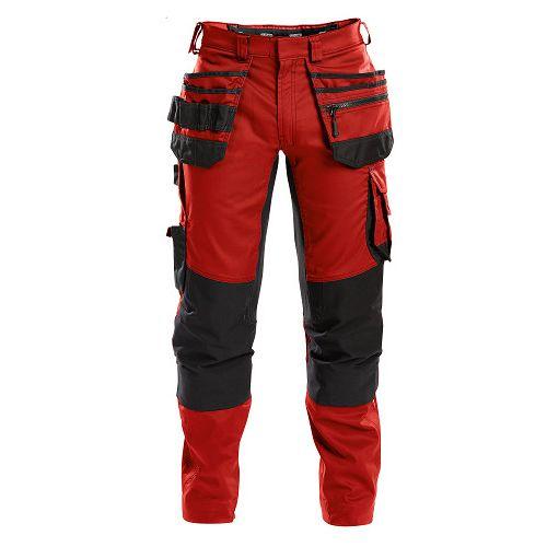 Pantalon de travail multipoches Flux Rouge