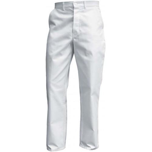 Pantalon de travail coton blanc
